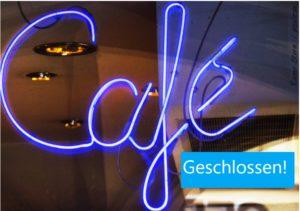 Foto cafe geschlossen