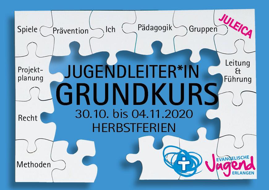 Grundkurs für Jugendleiter*innen HERBSTFERIEN 2020